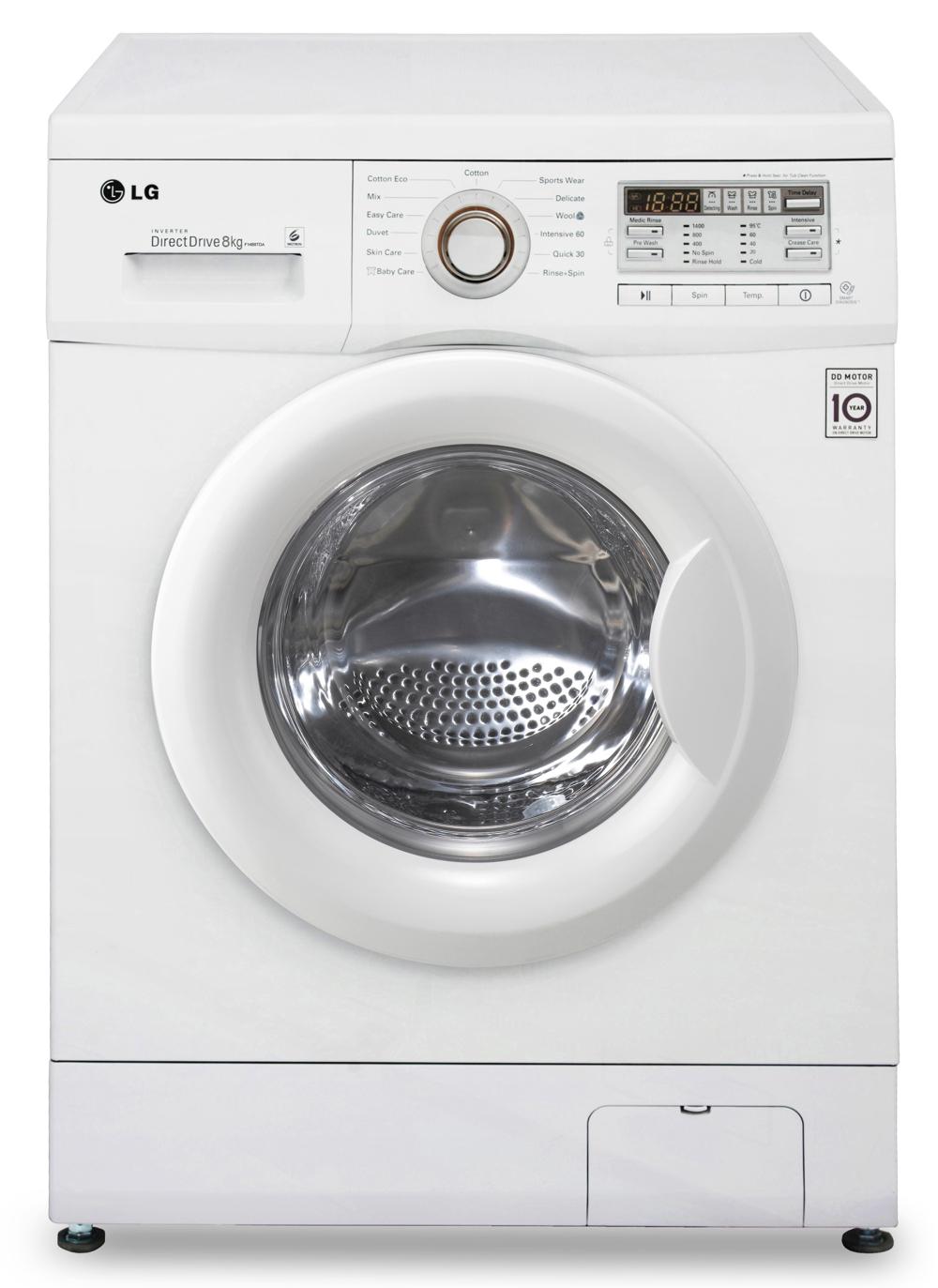 LG F14B8TDA vaskemaskine til KUN 6.499 kr. inkl. fri fragt!