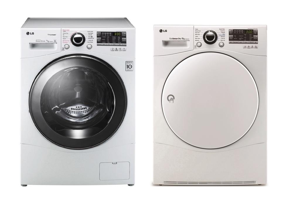 Frontbetjent vaskemaskine fra LG til kun 10.499 kr.!