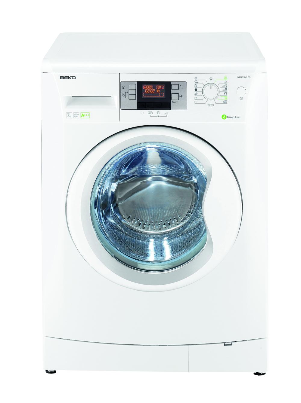 hvidevarer vaskemaskine frontbetjent vaskemaskine product beko wmylmb