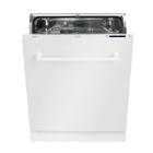 Indbygningsopvaskemaskine Knau KD14WA+ Hvid