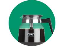 Tilbehør til kaffe- og espressomask.