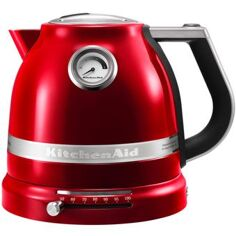 Kitchenaid 1,5 L - RØD METAL Elkedel