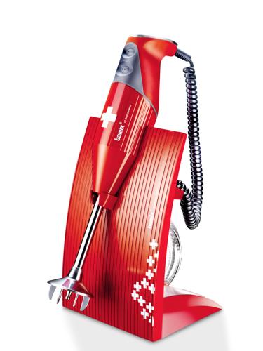 Bamix Swissline Röd