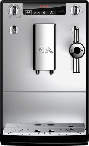 Melitta Solo & Perfect Milk Svart/silver